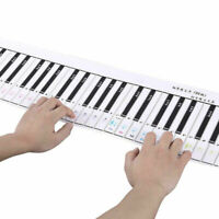 88 Key Electronic Piano Keyboard Practice Card for Beginner Exercise Tools Cheap
