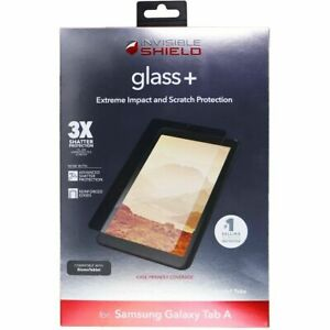 ZAGG (Glass+) Tempered Glass for Galaxy Tab A (8.0-inch, 2018) Screen Protector