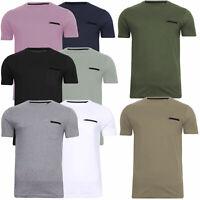 Mens Brave Soul T Shirt Top Crew Neck Tee Shirt 2 Styles Babtiste & Faustian