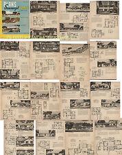 SUNSWEPT HOMES HOUSE PLANS MID CENTURY MIAMI! RARE MODERN DECO HOMES 80+ HOMES