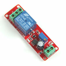 1PC 12 VDC ADJUSTABLE , ON DELAY TIME , 0 TO 10 SECONDS , 10 AMP RELAY BOARD