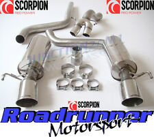 "Scorpion Corsa VXR & Nurburgring Exhaust 3"" Cat Back Non Res Louder SVXS055 New"