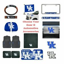 NCAA Kentucky Wildcats Select Your Gear Auto Accessories Official Licensed