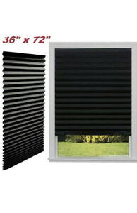 BLACKOUT BLIND PLEATED PAPER 36in 72in