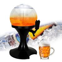 3.5L Beer Dispenser Beverage Liquor Drink Wine Beer Bar Tools with Ice Holder