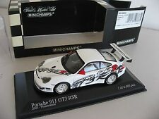 2003 Porsche 996 911 GT3 RSR 1 of only 6,000 1:43 Minichamps Presentation Car