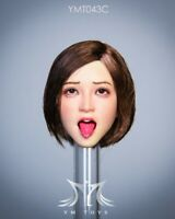 "YMTOYS YMT043C 1/6 Tongue Out open mouth Head Sculpt Fit 12"" Female PH Figure"