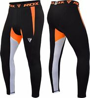 RDX Men's MMA Compression Pants Running Exercise Base Layer Tight Cycling Sport