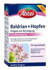 Abtei Baldrian + Hopfen Dragees zur Beruhigung 80 St PZN: 12453646