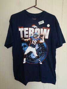 Tim Tebow Denver Broncos T-Shirt Large Reebok.