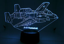 A 10 RC EDF Airplane 3D Acrylic Light with Extras