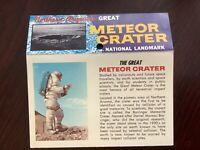 The Great Meteor Crater Arizona postcard