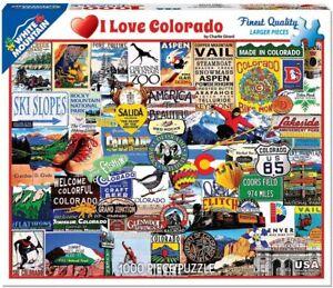 I Love Colorado 1000 piece jigsaw puzzle 760mm x 610mm (wmp)