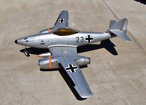 GIANT RC German Me 262 WW2 FIGHTER JET FYING MODEL DUCTED FAN JET