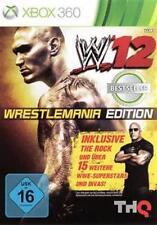 XBOX 360 WWE 12 WrestleMania Edition tedesco NUOVISSIMA