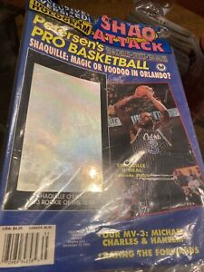 1993/94 Petersen's Pro Basketball Magazine Shaquille O'Neal Rookie Shaq Attack