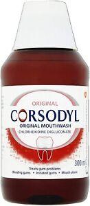 Corsodyl Original Mouthwash, 300ml