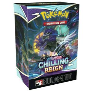 Pokemon Chilling Reign Build and Battle  Box