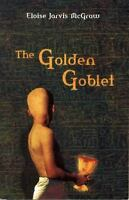THE GOLDEN GOBLET by Eloise Jarvis McGraw a paperback book FREE USA SHIPPING