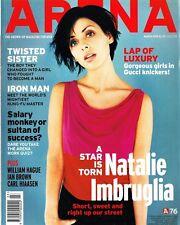 ARENA Magazine #76 03/1998 NATALIE IMBRUGLIA Estella Warren RZA William Hague VG