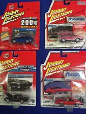 Lot Of Four Johnny Lightning Mopar  And Muscle Cars
