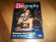 BIOGRAPHY SAMSON AND DELILAH A&E Biblical History Philistines SEALED NEW DVD