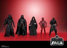 "Star Wars The Vintage Collection 3.75"" Celebrate the Saga Sith Set of 5 Vader"