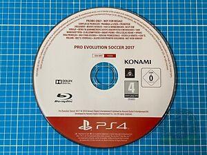 PES 2017 / Pro Evolution Soccer 2017 - Rare PS4 (Full Game ) Promo Disc