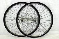 Rigida 700c Bike Wheels Vintage 20mm 124 OLW Shimano Doublewall France Charity!