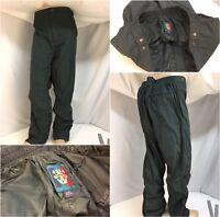 Sunice Golf Rain Pants XXL Men Green Poly Pockets Ankle Zip 40x32 YGI 9121