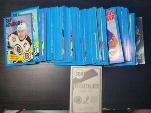 1996-97 Panini NHL / Hockey Sticker Complete Set 1-304