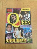 MUSIC FANS SPECIAL QUEEN FREDDY MERCURY 1991 viele Farbfotos und 3 Poster