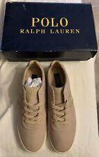 Polo Hanford Khaki Shoes Size 9.5