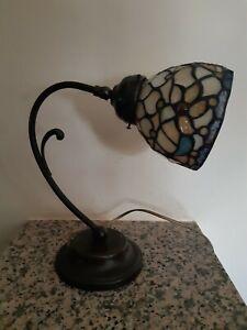 Coppia di lampade stile tiffany