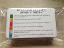 Desmond Lynam's Sports Trivia Family Adult 50 Game Cards Spare Extra Quiz
