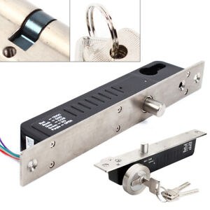 Electric Magnetic Lock Drop Bolt Lock Door Entry Security Access Control System