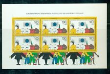 Germany 1990 Dusseldorf '90 sheet #B693 VFMNH CV $17.00