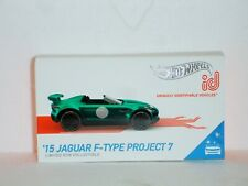 Hot Wheels Id Car (id) 15 Jaguar F-Type Project 7 Limited Run Collectible