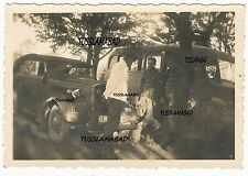 Soldaten am Pkw Auto Fahrzeuge Technik Foto