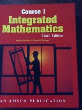 Course 1 integrated mathematics third edition by Isidore/ Eward