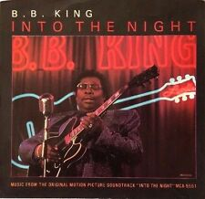 B.B. KING: INTO THE NIGHT 45RPM PICTURE SLEEVE ONLY - NEW, MUST SEE!!