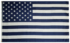 3x5 Blue & White USA 50 Star American 100D Woven Poly Nylon 3'x5' Flag (RUF)