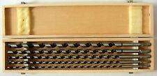 Schlangenbohrersatz 5 tlg. Holzbohrer Bohrer-Set   Schlangenbohrer Satz 460 mm