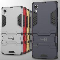For Sony Xperia XA1 Case Hard Kickstand Protective Slim Phone Cover