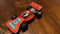 Vintage Matchbox Superfast Team No. 24 1973 Red Racing Car