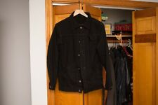 3Sixteen x Withered Fig Overdyed Ranch Jacket (Raw denim, trucker, size XL)