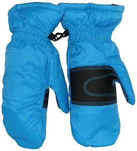 Columbia Youth City winter Trek Mittens Gloves size Medium  blue