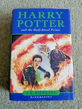 JK Rowling HARRY POTTER AND THE HALF BLOOD PRINCE 1st Edition Misprint HARDBACK