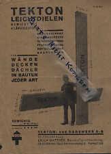 OLBERNHAU, Prospekt 1930, Bauwaren-Großhandlung Erich Matthes Tekton Leichtdiele