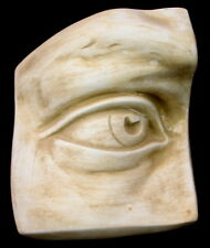 Clearance Greek Roman Art David Right Eye Wall Plaque Antique Finish